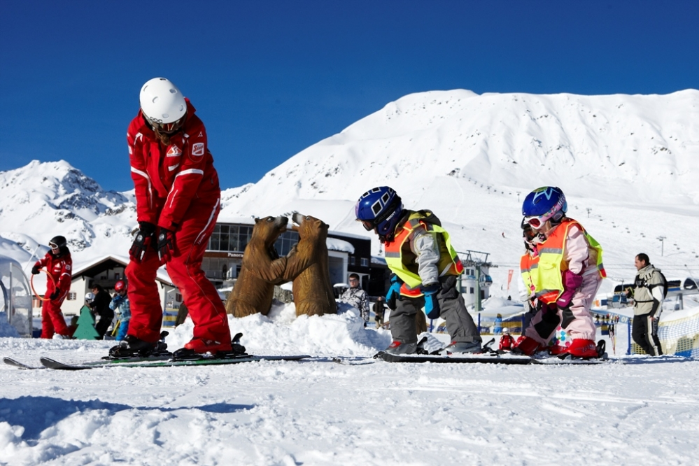 Sneller leren skiën: Doe wat de leraar zegt