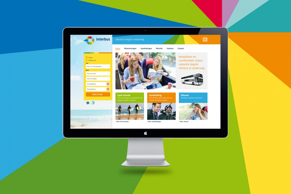 Website Interbus gelanceerd