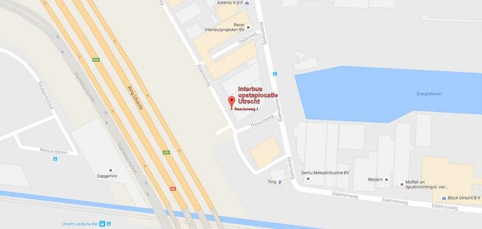Nieuwe opstaplocatie in Utrecht, Reactorweg 1