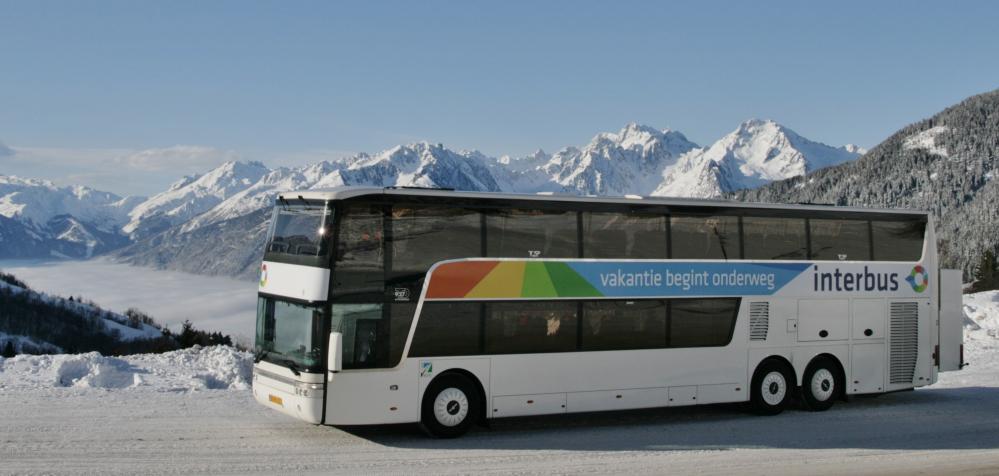 Eerste vertrek Interbus reizen 15 januari 2021