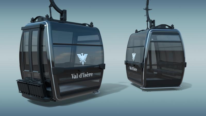 Nieuwe skiliften Frankrijk