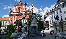 Busreis naar Bled in Slovenië