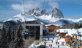Busreis naar Canazei in Italië