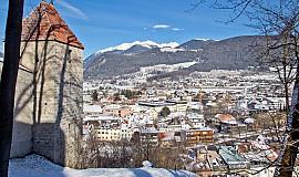 Busreis naar Bruneck in Italië