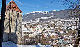 Busreis naar Bruneck in Italië - First Class