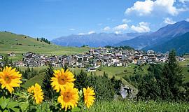 Busreis naar Fiss in Oostenrijk