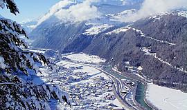 Busreis naar Ried im Oberinntal in Oostenrijk