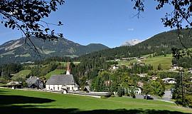 Busreis naar Fieberbrunn in Oostenrijk